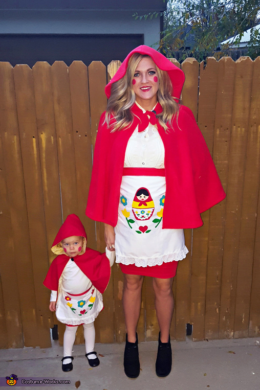 Matryoshka Russian Nesting Dolls Maternity Costume