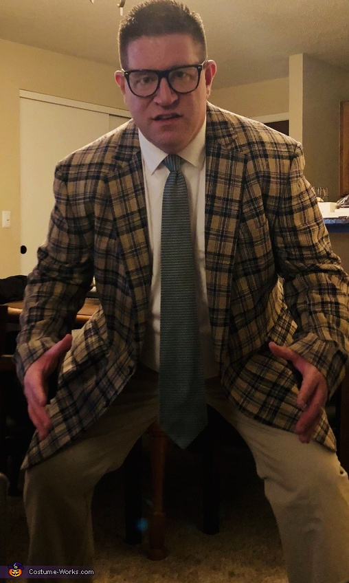 Matt Foley - Motivational Speaker Costume