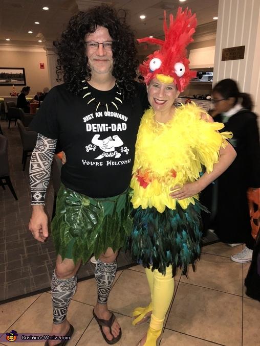 Maui and Heihei from Moana, Heihei from Moana Costume