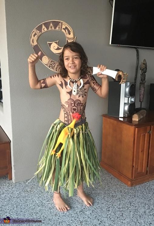 Maui the Demi God Costume