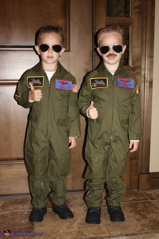 Maverick and Goose Costume