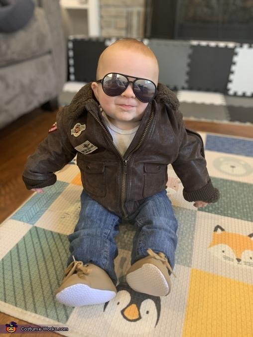 Fighter jacket, Maverick Top Gun Costume