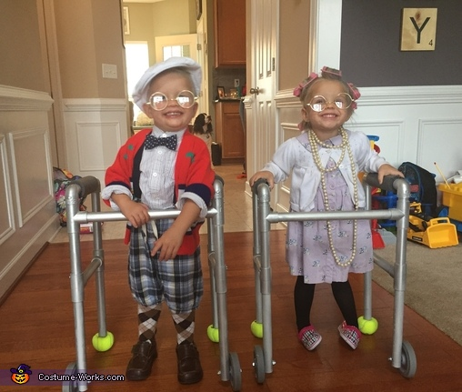 Mawmaw and Pawpaw Costume