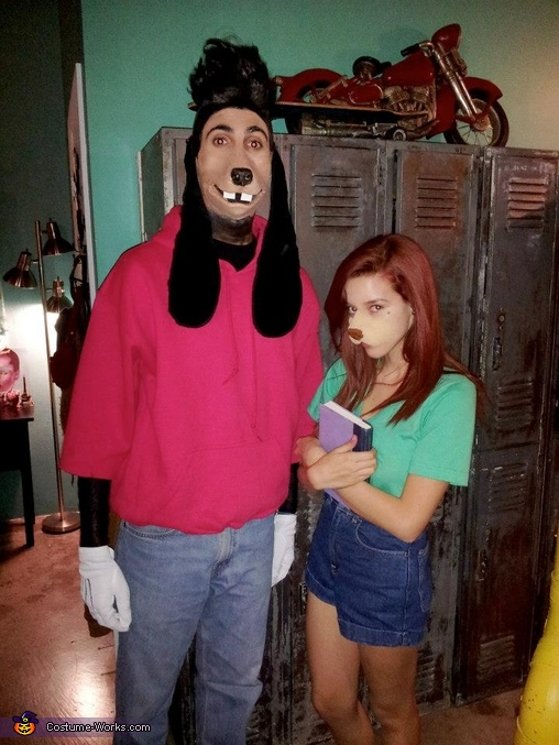 A Goofy Movie Max and Roxanne Costume
