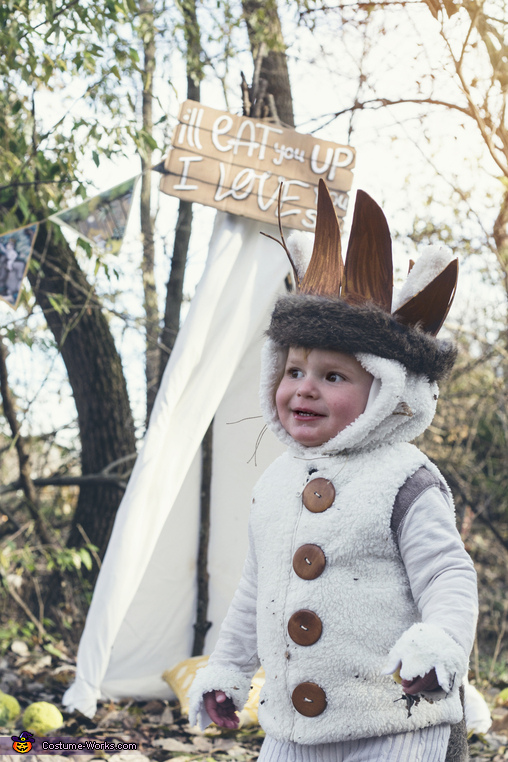 Max from Where the Wild Things Are Homemade Costume