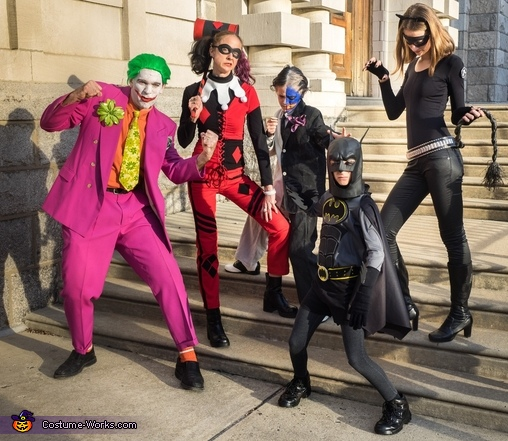Mayhem in Gotham City Costume