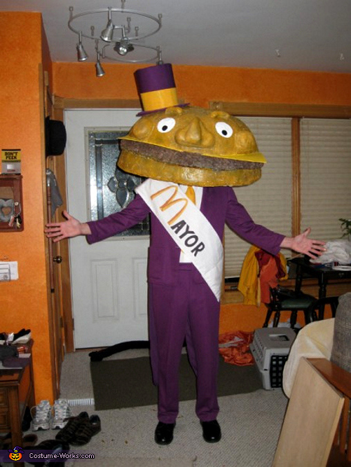 Mayor McCheese - Homemade costumes for men