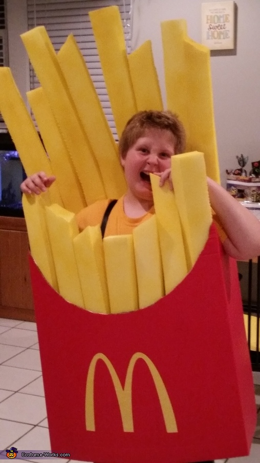 You are what you eat, McDonald's Fries Costume