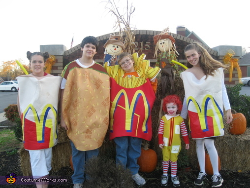McDonalds's Crew Group Costume