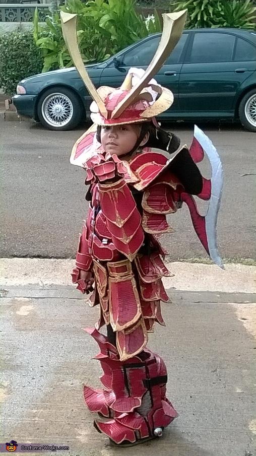 fist full of scales, Mech Samurai Warrior Costume