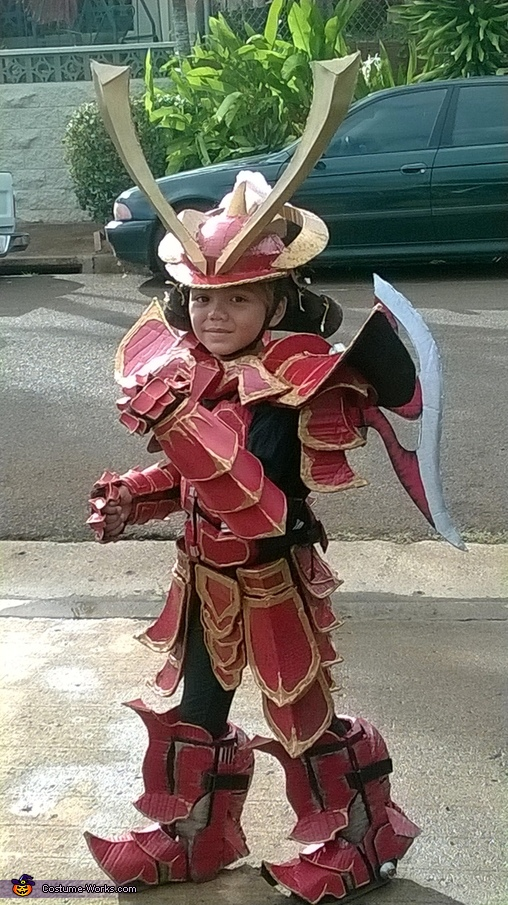 Dance with the Dragon Samurai, Mech Samurai Warrior Costume