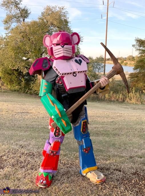 Mecha Team Leader Costume