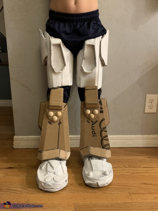 Mecha Team Leader Homemade Costume