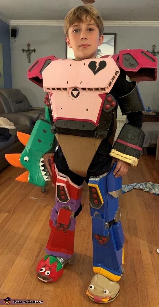 Mecha Team Leader Homemade Costume