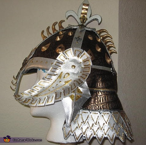 Medieval Dragon Warrior - Helmet, Medieval Dragon Warrior Costume