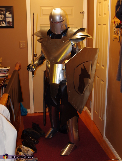 Medieval Knight. Medieval Knight - Homemade costumes for men