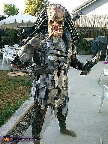 Kids Predator Halloween Costume