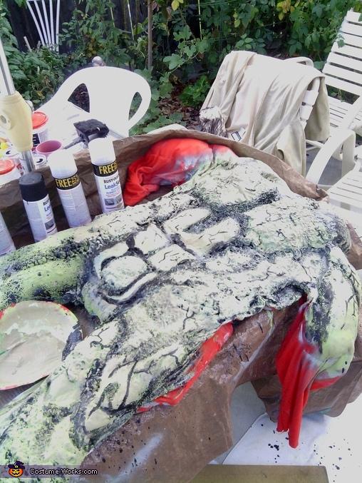 Medieval Predator Homemade Costume