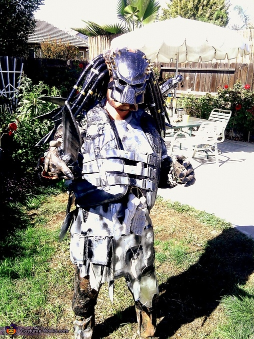 Finished, Medieval Predator Costume
