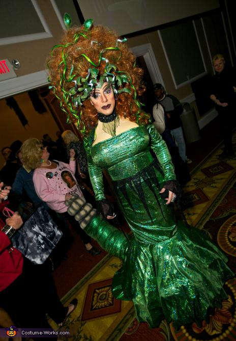 Gorgon Medusa - Homemade costumes for adults