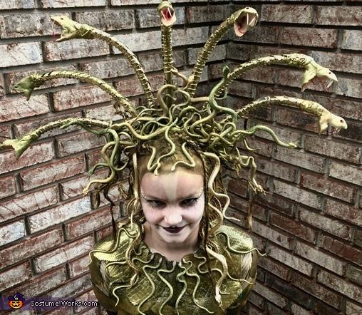 Medusa, Medusa Costume