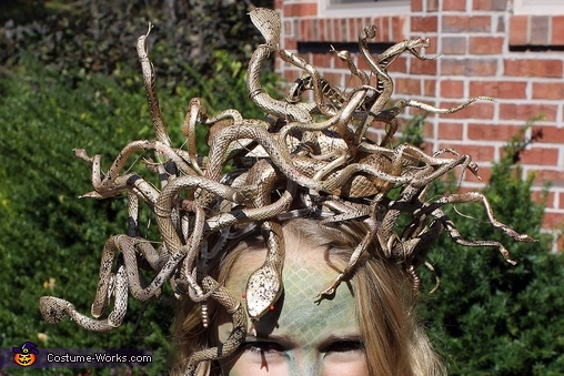 Medusa Headpiece, Medusa Costume