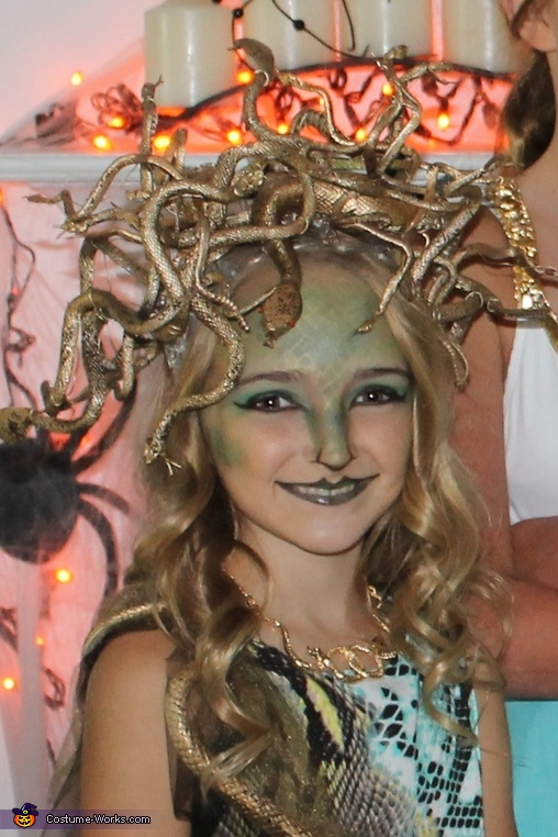 Medusa Make Up, Medusa Costume