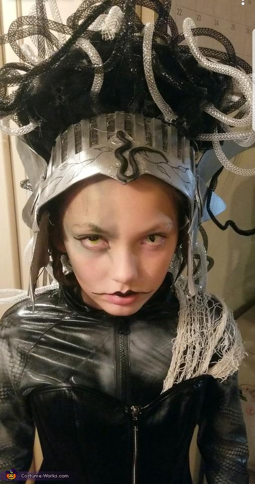 Medusa Homemade Costume