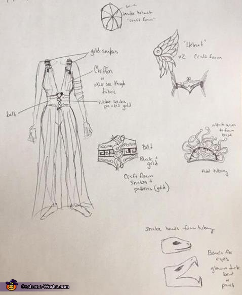Original Plans, Medusa Costume