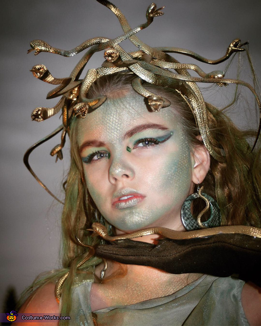 The sky cooperated, Medusa Costume