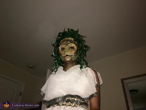 Medusa with Flash, Medusa Costume