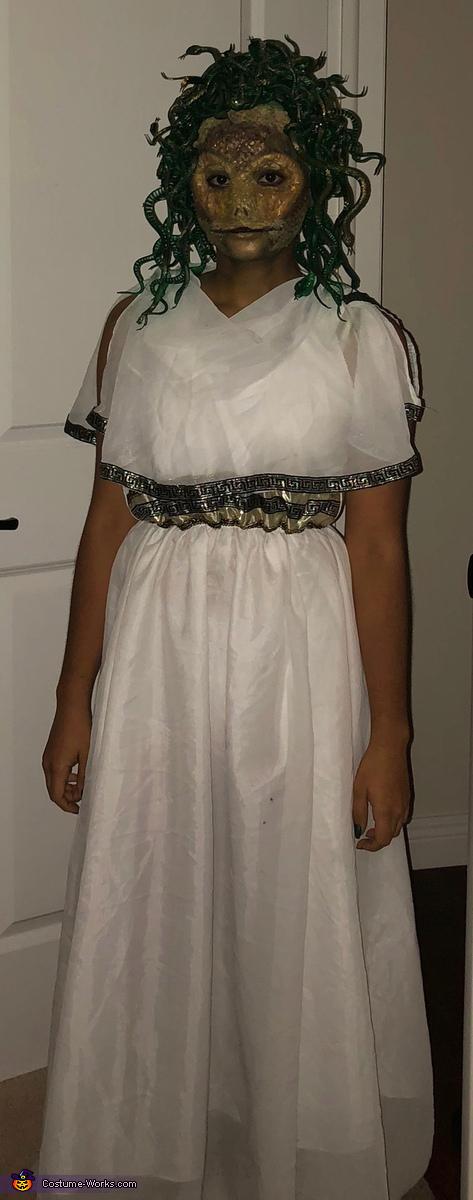 Full Length, Medusa Costume
