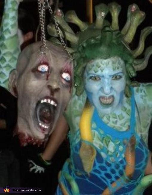 Medusa - Homemade costumes for women