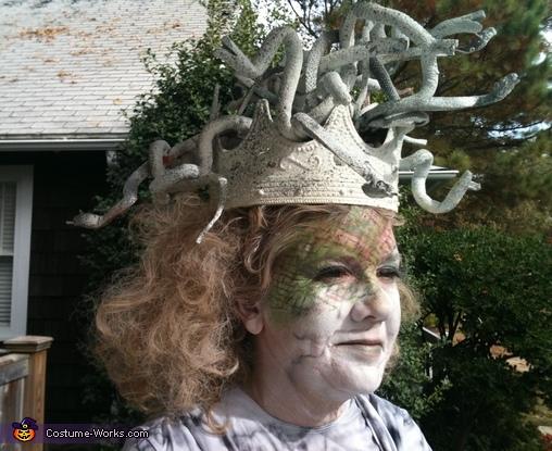 Headshot, Medusa Costume