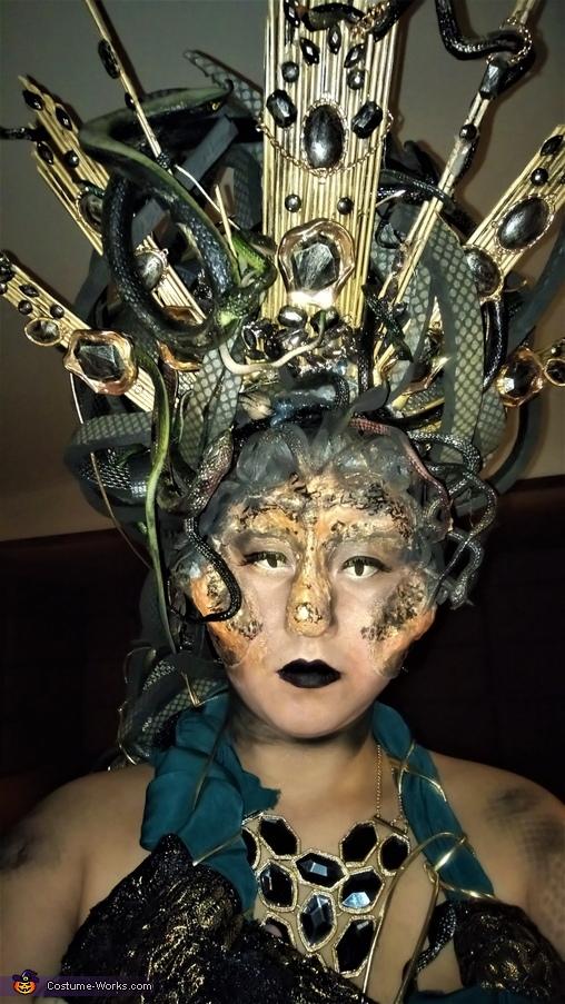 face 2, Medusa Costume