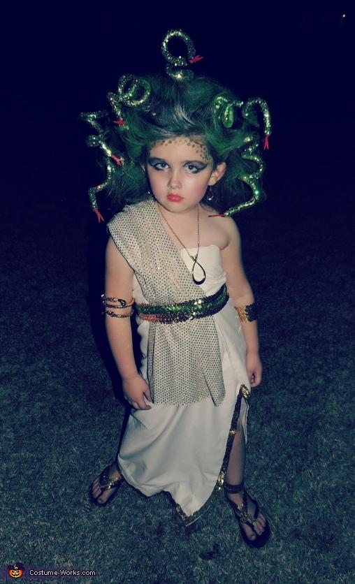 Medusa Costume For Girls