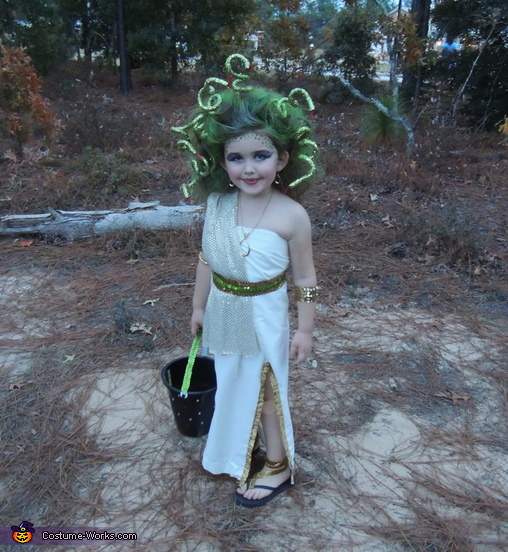 In her element!, Medusa Costume