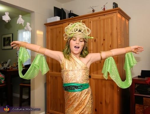 Medusa sleeves, Child's Medusa Costume