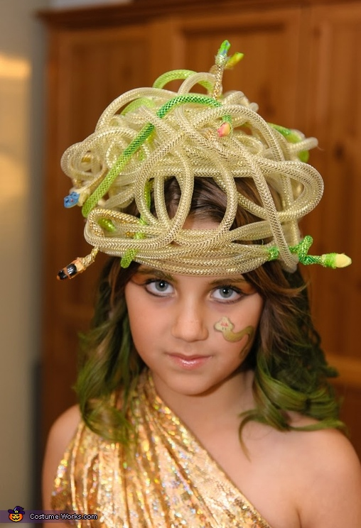 Medusa Headpiece, Child's Medusa Costume