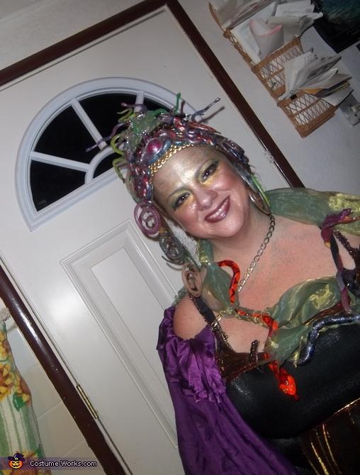 snakes, Medusa Costume