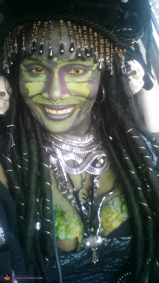 Medusa Homemade Costume