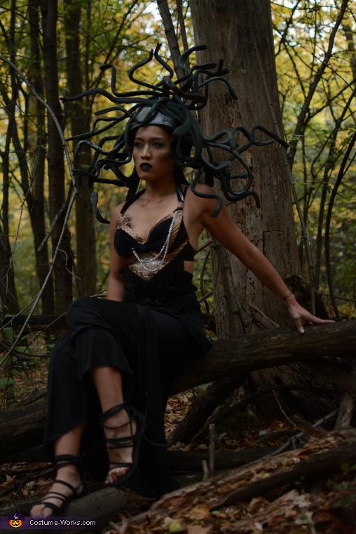 Medusa: Goddess or Monster?, Medusa and Stone Man Costume