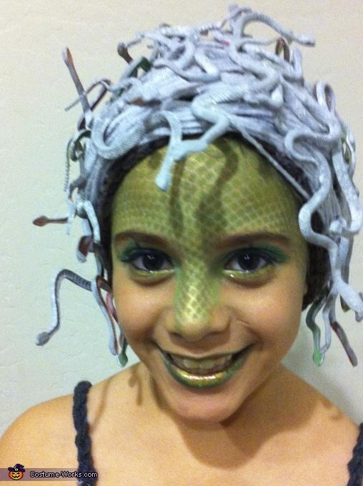 Medusa Gorgona Costume for Girls