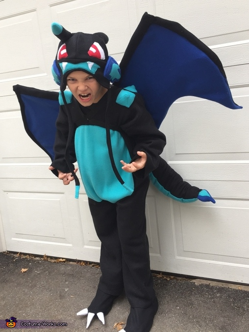 Pokemon Mega Charizard X Costume