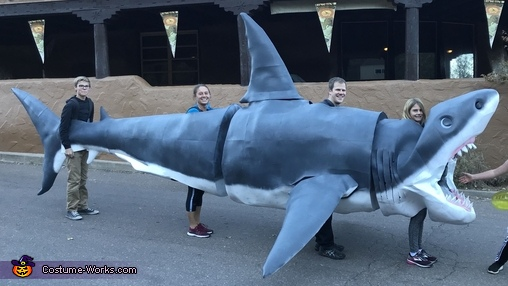 Megaladon Shark Costume