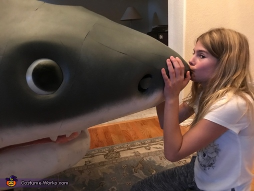 How sweet, Megaladon Shark Costume