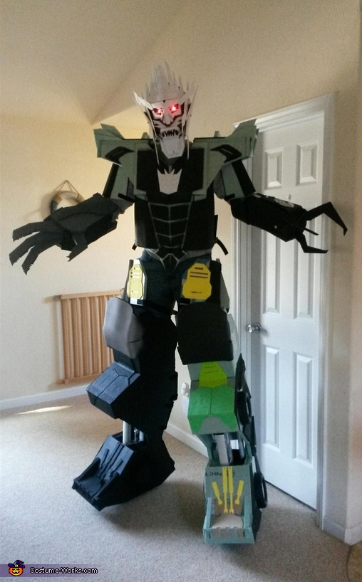 Work in progress, Megatron Costume