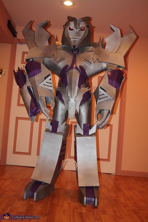 Megatron Transformers Prime Costume