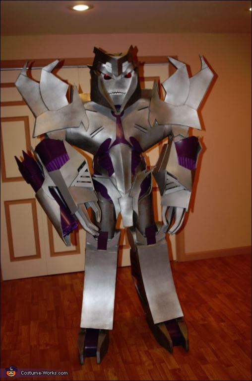 Megatron Transformers Prime Homemade Costume
