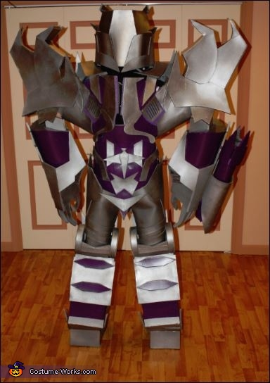 Back of Megatron, Megatron Transformers Prime Costume